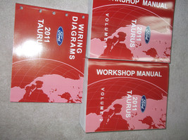 2011 FORD TAURUS Service Shop Repair Workshop Manual Set Factory W EWD OEM  - $89.09
