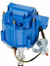 HEI Distributor - Amc Jeep 232-258 6-Cyl Engines, 50K V Coil, Blue Cap image 5