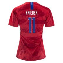 NIKE ALI KRIEGER #11 USA 2019 WORLD CUP WOMEN'S RED WOMENS SOCCER JERSEY... - $99.99