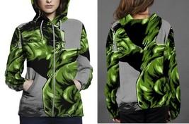 hulk comic poster Hoodie Zipper Women's - $48.99+