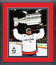 Brooks Orpik with the 2018 Stanley Cup® Championship Trophy Matted/Framed Photo - $43.95