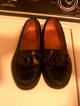 Timberland ~ Woman's 9W Black Leather Loafers U53369. - $25.72