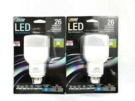 FEIT Electric 26 Watt PL LED Bulb 800 Lumens Cool White Linear 4 Pin Base K1 - $28.04