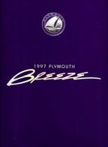 1997 Plymouth BREEZE sales brochure catalog US 97 - $6.00