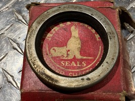 NOS National 1953-55 Packard rear wheel seal 1957-59 Chevy truck 3/4 ton front  - $15.95