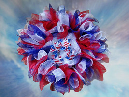 Independence Day Wreath - $29.99
