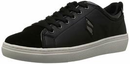 Skechers Women's GOLDIE-PATENT Trimmed Sneaker Black 73819 - $28.49