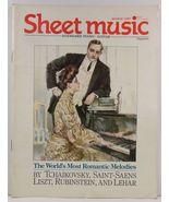 Sheet Music Magazine March 1987 Standard Piano/Guitar - $3.99