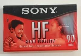 SONY HF High Fidelity Audio Cassette Tape 90 Minutes  - $7.83