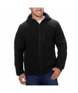 Reebok Men's Hybrid Softshell Jacket (Black, Large) - $21.77