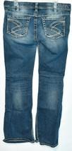 Silver Jeans Women's Suki Bootcut Embroidered Medium Blue Denim Size W32/L32 image 2