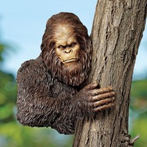 Patio Gorilla Statue Accent Sculpture Bigfoot Jungle Animal Garden Decor... - $124.30