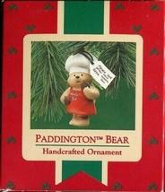 1987 - New in Box - Hallmark Christmas Keepsake Ornament - Paddington Bear - $3.95