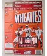 Empty WHEATIES Box 1996 12oz ALL PRO QUARTERBACKS Elway Marino Aikman [Z... - $6.38