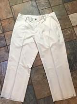 Men's Adidas Khaki Climalite Pants Sz 34 And Now 26 Euc - $19.79