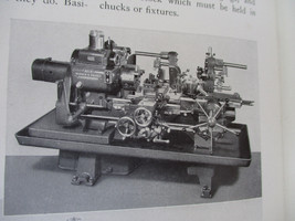Metalworking Turret Lathe Operator's Manual Vintage Craft Service 1940 - $25.39