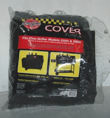 Char Griller Model 8080 Grill Cover Black Professional Grills Smokers