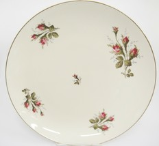 "Rosenthal Aida Large 13"" Round Platter Rosebuds Thorny Stems Gilded Edge... - $37.61"