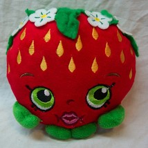 "Shopkins SOFT STRAWBERRY KISS 6"" Pillow Plush STUFFED ANIMAL Toy - $14.85"