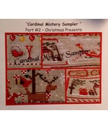 Cardinal Mystery Sampler Part 2 Christmas Presents cross stitch chart Ma... - $7.20