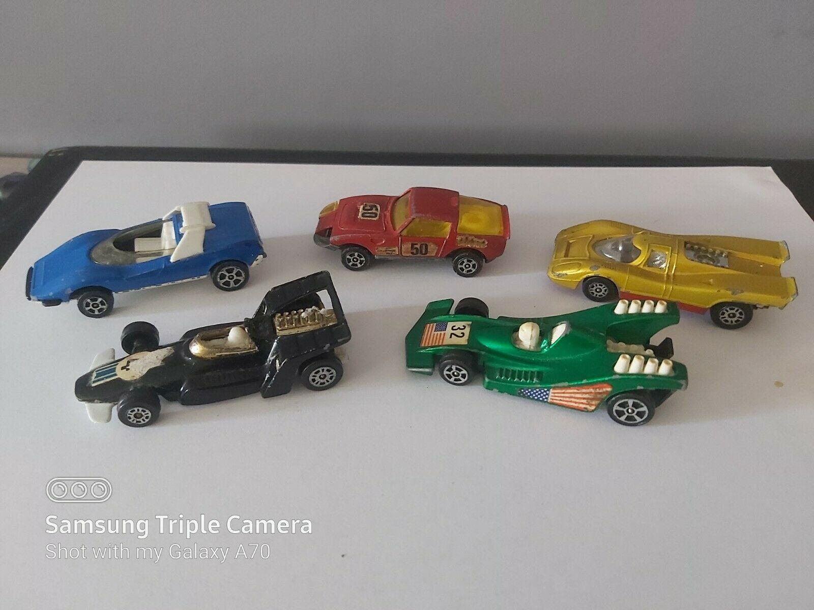 SMALL LOT OF CORGI JUNIOR SPORTS & RACING CARS - AS PHOTOS - $5.23
