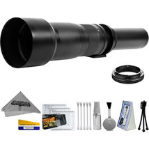 Opteka 650-1300mm High Definition Ultra Telephoto Zoom Lens for Sony A-mount - $179.95