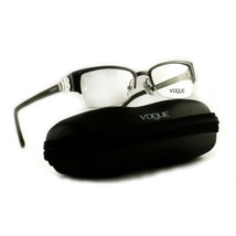 Vogue Eyeglasses VO 4014-B 5010 Grey Semi-Rimless Metal 50 18 135 - $51.30