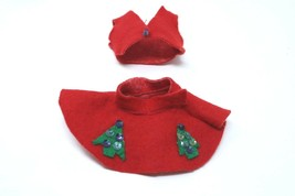 Early handmade Barbie Christmas outfit plus more - $22.50