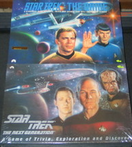 Star Trek 1992 Classic & 1993 Next Generation Trivia Games Set of 2, UNUSED - $29.02