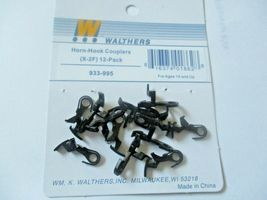 Walthers  #933-995 Horn - Hook Couplers (X-2F) 12 per Pack  HO-Scale image 3