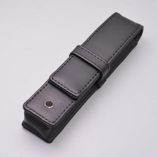 Luxury Stationery JOHN F. KENNEDY 18K Fountain Pen Black Resin Silver JFK Clip P