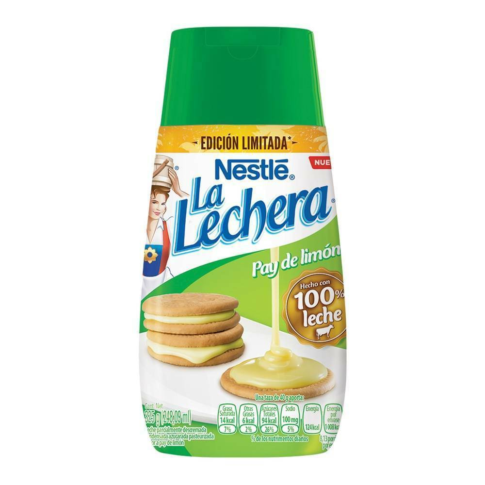 "Primary image for Nestlé Condensed Milk La Lechera ""easy serve"" Lime Pie Flavor 325 g~3 pack~NEW"