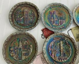 Christmas in America Collectors Plates 1970 71 72 73 74 75 76 77 78 Fenton - $84.15