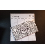 2018-2019  color it your self Pattern  2 Year Pocket Planner Calendars - $1.88