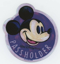 Disney World 2020 Epcot Festival of the Arts MICKEY Passholder car magnet - $29.95