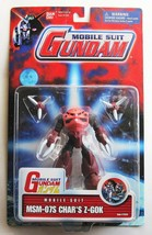 GUNDAM Action Figure MSM-07S Char's Z-Gok New 2001 Bandai Sealed Rare - $34.55