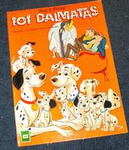 101 dalmatians Disney 1978 Cucana spanish comic book - $19.99