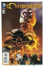 Convergence #4 1st Print Steigerwald Segovia Cover DC Comic Book - $3.99