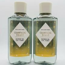2-Pack Bath & Body Works CHAMPAGNE TOAST 2020 Shower Gel Wash 10 fl.oz NEW - $23.66