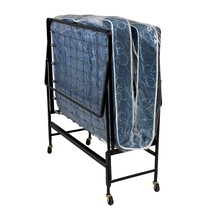 Bed In A Box Guest Rollaway Hideaway Twin Quilted Mattress Portable Fold... - $366.99