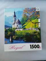 Studio Puzzle Bits & Pieces 500 Piece +Images Neuschwanstein Castle Regal Church - $19.17