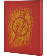 Flash Logo Paint Splatter Canvas 16 by 20 - $18.69