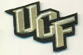 UCF CENTRAL FLORIDA  KNIGHTS  IRON on embroidered PATCH  COLLEGE UNIVERS... - $11.95