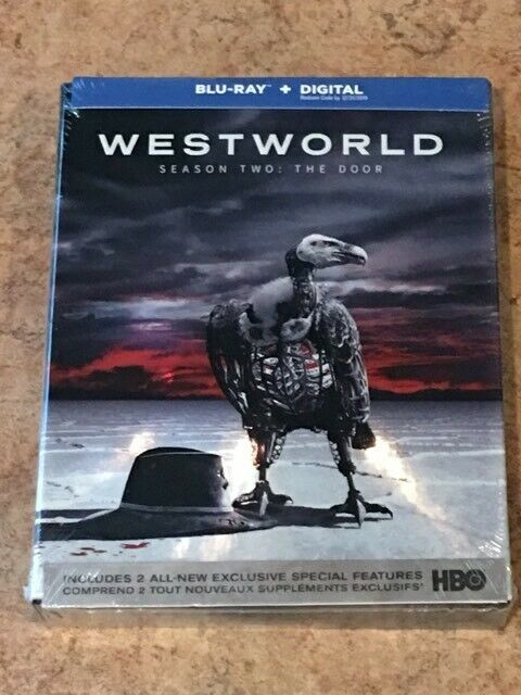 Westworld Season 2 : The Door (Canadian Blu-ray with USA Compatible Discs) NEW