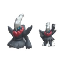 2007 Pokemon Finger Puppet Clear Darkrai Figure Catch Them Nintendo Bandai Lot 2 - $12.61