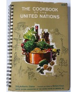 United Nations 250 Authentic Dishes Fundraiser Cookbook 1964 Used - $6.92