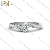 Diamond Anniversary Ring Gift Gorgeous Wedding Ring Womens Promise Ring ... - $62.55+