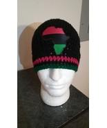 Africa Inspired Handmade Crochet Beanie - $21.00