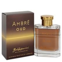 Baldessarini Ambre Oud by Hugo Boss Eau De Parfum Spray 3 oz (Men) - $53.75