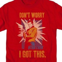 Star Trek t-shirt Don't worry I got this classic TV graphic tee CBS1379 image 2